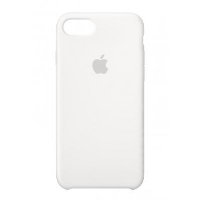 Apple mobile phone case: Siliconenhoesje voor iPhone 8/7 - Wit
