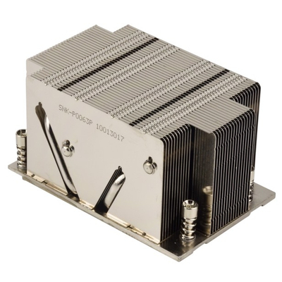 Supermicro Heatsink, 180W TDP, 2U, Metallic Hardware koeling