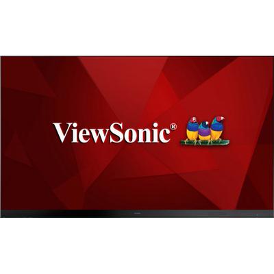 "Viewsonic 163"" DLED, FHD, 600 cd/m², 6000:1, 160/160, 220-240V 50 Hz, 192 kg Public display - Zwart"