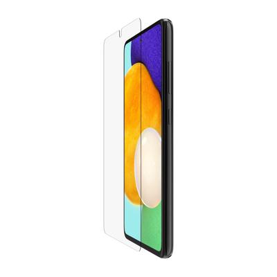 Belkin Voor Samsung Galaxy A52 5G, Gehard glas, 9H Screen protector - Transparant