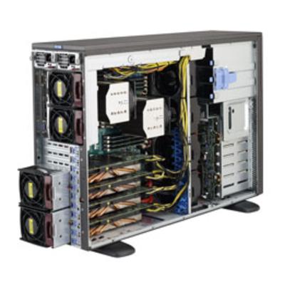Supermicro SuperServer 7048GR-TR Server barebone - Zwart