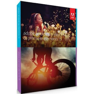 Adobe software suite: Photoshop Elements + Premiere Elements 15