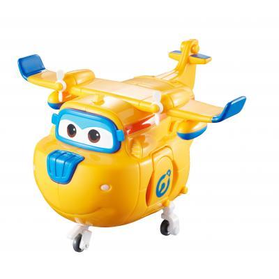 Alpha animation & toys toy vehicle: Super Wings Speelfiguren Transforming! Donnie - Blauw, Oranje