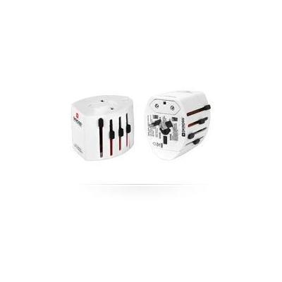 Microconnect stekker-adapter: SKROSS 2-pole Adapter - Wit