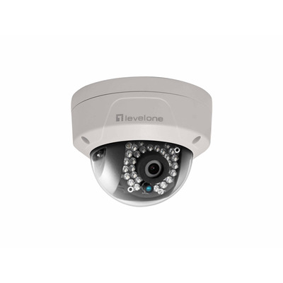 LevelOne FCS-3087 Beveiligingscamera - Wit
