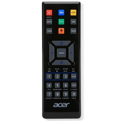 Acer E25 afstandsbediening - Zwart