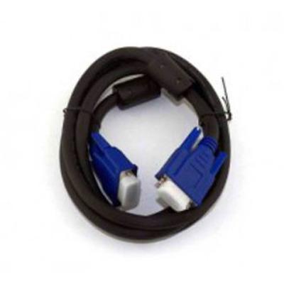 HP 464265-001 VGA kabel  - Zwart, Blauw