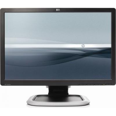 HP monitor: L2245w - Refurbished - Lichte gebruikssporen - Zwart, Zilver (Approved Selection Standard Refurbished)