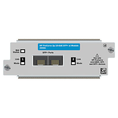 Hewlett packard enterprise netwerk switch module: 5800 2-port 10GbE SFP+ Module