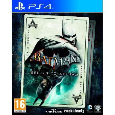 Warner bros game: Batman: Return to Arkham  PS4