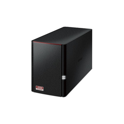 Buffalo LinkStation 520 NAS - Zwart