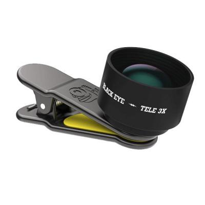Black eye : Tele 3x - Zwart, Geel