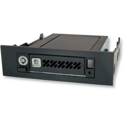 CRU Data Express DE50 SAS/SATA 6G Drive bay - Zwart