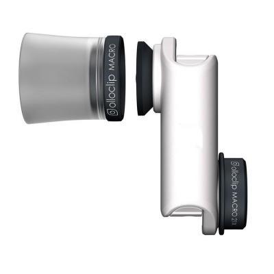 Olloclip : Macro Pro lens, 22.7 g, Apple iPhone 6/6s/6 Plus/6s Plus - Zwart, Wit