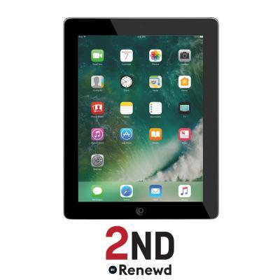2nd by renewd tablet: Apple iPad 4 Wifi + 4G refurbished door 2ND - 16GB Spacegrijs - Zwart (Refurbished ZG)