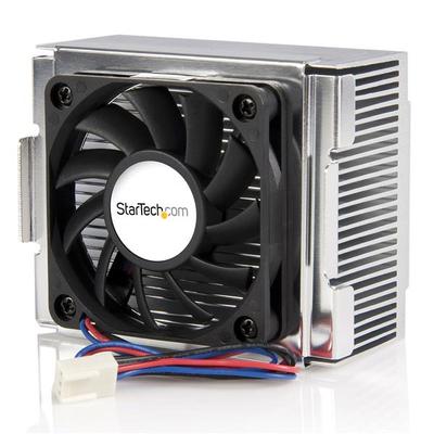 StarTech.com 85x70x50mm Socket 478 CPU Koelventilator met Heatsink & TX3 Connector Hardware koeling - Zwart