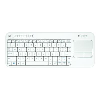 Logitech toetsenbord: K400 - Wit, AZERTY
