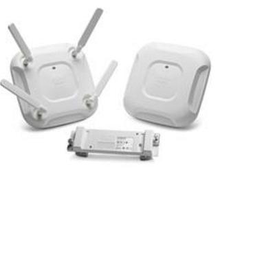 Cisco Aironet 3702E-UXK9 802.11ac W2 3x4:3SS Ext-Ant CleanAir Access point - Wit