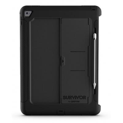 Griffin tablet case: Survivor Slim - Zwart