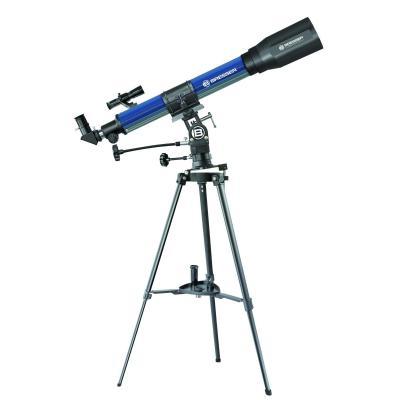 Bresser optics telescoop: Refractor, 225x Magnification, Blue/Black - Zwart, Blauw
