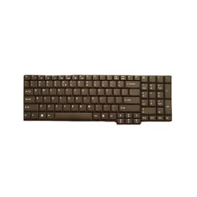 Acer toetsenbord: TravelMate 7520/7720G keyboard - Zwart, QWERTY