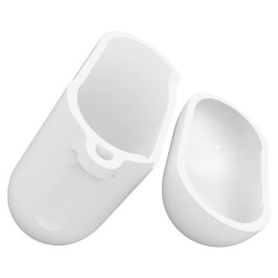 Spigen Apple AirPods Silicone Case Koptelefoon accessoire - Wit
