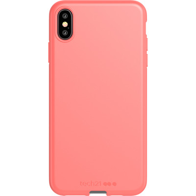 Antimicrobial Backcover iPhone Xs Max - Coral My World - Koraal Mobile phone case