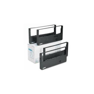 Tallygenicom printerlint: 60Mio signs black nylon - Zwart