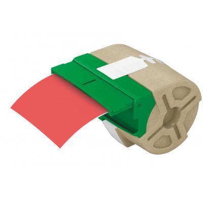 Leitz etiket: Icon Intelligent Plastic Label Cartridge 88 mm, 10 m, red - Rood