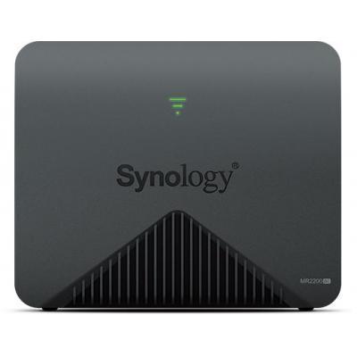 Synology MR2200ac Tri-Band Mesh Wireless router - Zwart