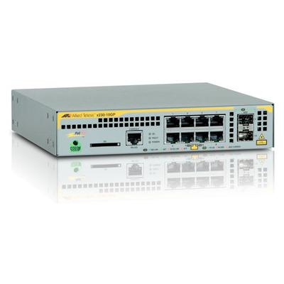 Allied Telesis AT-x230-10GP-50 Switch - Grijs