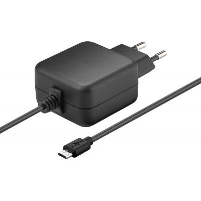 Microconnect MicroUSB Charger 2.5 A Oplader - Zwart
