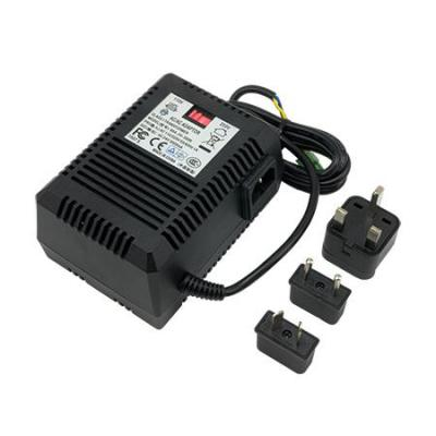Acti netvoeding: Power Adapter, 100 - 240V, 1659g, + universal connectors - Zwart