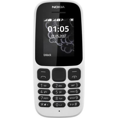 Nokia 105 mobiele telefoon - Wit
