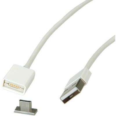 ROLINE 11.02.8312 USB kabel - Wit