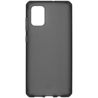 ITSKINS Spectrum Frost Backcover Samsung Galaxy A71 - Zwart - Zwart / Black Mobile phone case