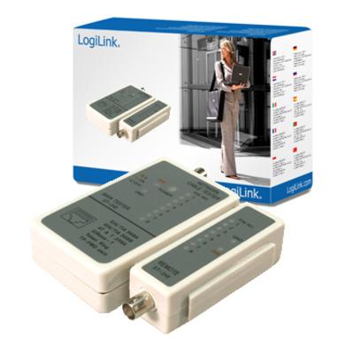 LogiLink Cable tester Netwerkkabel tester