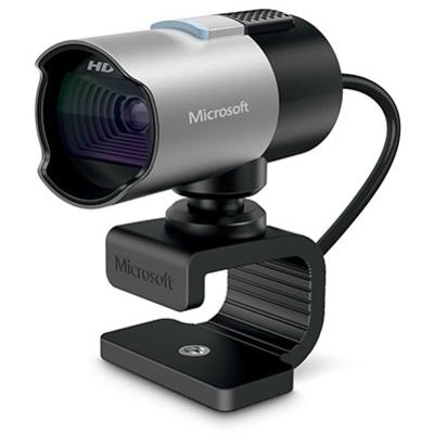 Microsoft LifeCam Studio Webcam - Zwart, Zilver