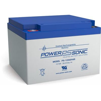 Power-Sonic PS-12260VDS UPS batterij - Blauw, Grijs
