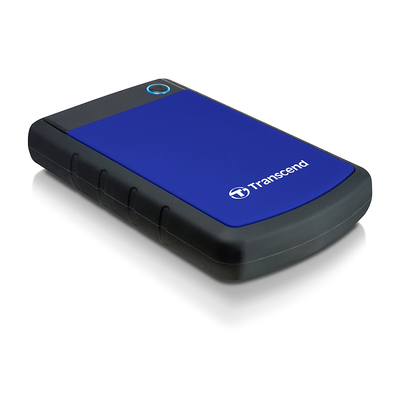 Transcend 1TB StoreJet 25H3 Externe harde schijf - Zwart,Blauw
