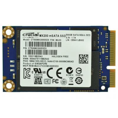 2-power SSD: 500GB SSD 1.8 mSATA 6Gbps