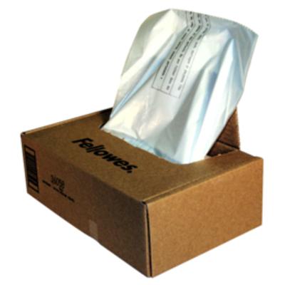 Fellowes Opvangzakken voor papiervernietigers Papier-shredder accesoire - Transparant