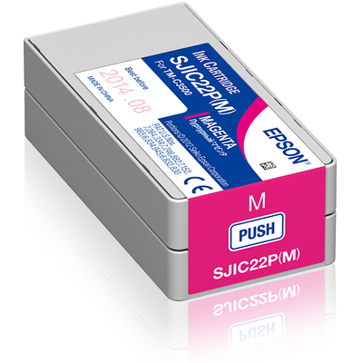 Epson SJIC22P(M) Inktcartridge - Magenta
