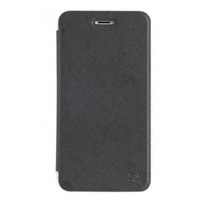 Xqisit Flap Adour Protective Case for Apple iPhone 7 Plus, Black Mobile phone case - Zwart