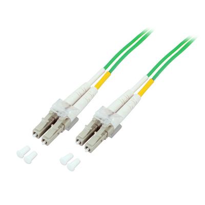 EFB Elektronik Duplex LC-LC 50/125µ OM5 15m Fiber optic kabel - Groen