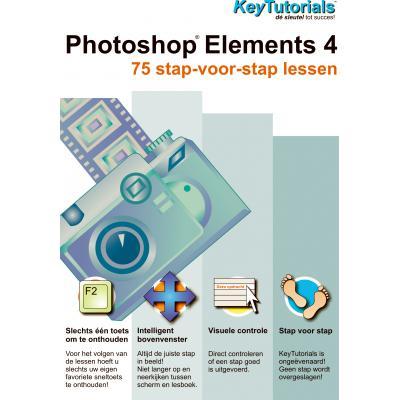 Shareart educatieve software: Keytutorials, Adobe Photoshop Elements 4.0  NL