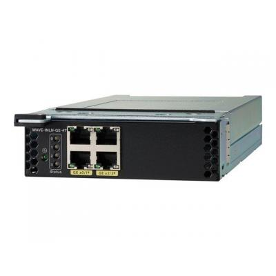 Cisco WAVE-INLN-GE-4T netwerk switch module