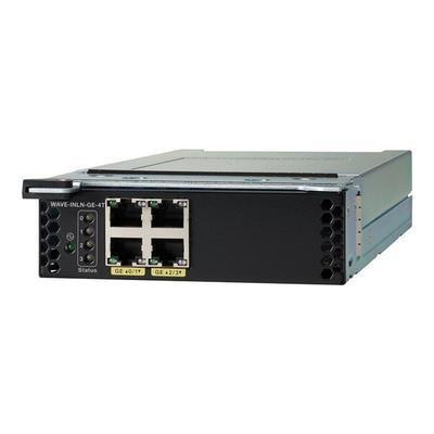 Cisco WAVE-INLN-GE-4T Netwerk switch module