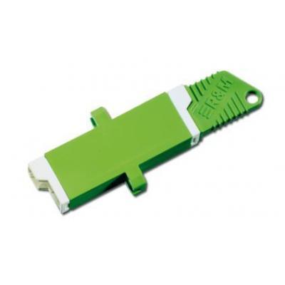 Assmann electronic elektrische fitting koppelaar: E2000 - Groen