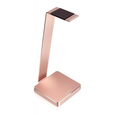 Thermaltake component: LUXA2 Electric One Rose Gold Aluminum Headphone Stand